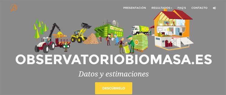 Avebiom lanza una página web sobre el uso de la Biomasa en España